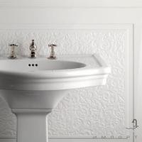 Плитка керамическая фриз DEVON&DEVON ELYSEES BOISERIE end panel for slab (white) ddeBlistwh