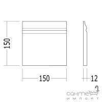 Плитка керамическая плинтус DEVON&DEVON SIMPLY plinth (yellow) dc1515pgi