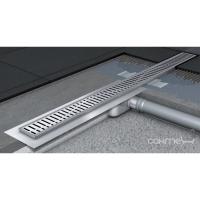 Дренажный канал с фланцем ACO C-line 585 с сифоном