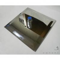 Верхний душ Dorff 200x200 квадратный, хромированная нержавеющая сталь