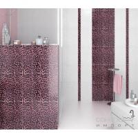 Плитка Kerama Marazzi Бордюр Ирбис розовый 40x6,0 ADB816000