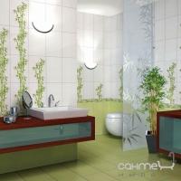 Фриз Береза керамика Ретро Retro Green Bambo (25x6.5)