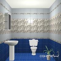 Фриз Береза керамика Азалия Azalea Orchid 35x1,5х6 арт. 201323