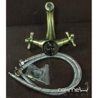 Смеситель бронзовый для раковины Welle Amalia 19022T4HO
