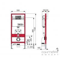 Унитаз Villeroy&Boch O.Novo 5660HR01 с крышкой Soft-Close + инсталляция TECE