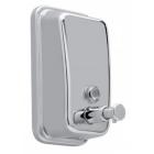 Дозатор наливной для мыла-пены JVD Cleanline Espuma 844253 металлик