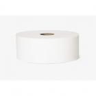 Туалетная бумага Eco+ Джамбо 120160 белая