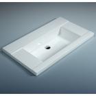 Мебельная раковина WGT Stone Quadro 900x515 белый