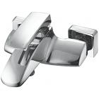 Настенный смеситель для ванны Frande Choke NP23153C Хром