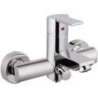 Настенный смеситель для ванны Frande Caspar UN23149C Хром