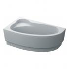 Асимметричная акриловая ванна SWAN Gloria (левая) L.04.160.90