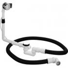 Комплект слива-перелива с наливом для отдельно стоящих ванн, диаметр выпуска 52 мм, Duravit 790292 хром