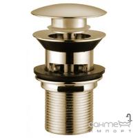 Донный клапан Click-Clack переполнения регулируемый Bugnatese Accessori RICDO19274 золото