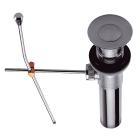 Автоматический слив для раковины/биде, латунь, G1 Clever 92900 Хром