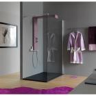 Гидромассажная панель с верхним душем, лейкой и полкой Samo Trendy Rigal KR1000ХХХ цвета в ассортименте
