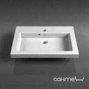 Мебельная раковина Fancy Marble Pauline 600x455 2506101 белый