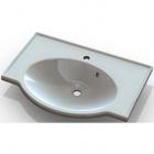 Мебельная раковина Marmite Sandra 700x400 01149071103 белый