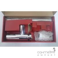 Сифон для раковины латунь Nicoll SAS L3520 хром