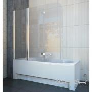 Шторка для ванны KollerPool Waterfall Line QP96 левосторонняя