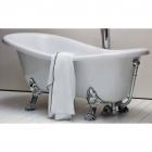 Ванна отдельностоящая Azzurra Victorian Style V112 B белая, хром
