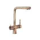 Смеситель с изливом для фильтрованной воды Interline Mix bronze латунь