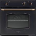 Электрический духовой шкаф Interline HR 830 BK антрацит