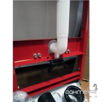 Инсталляция с комплектом для установки подвесного унитаза TECE TECEbase 9.400.006