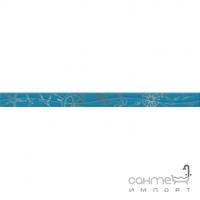 Фриз 400х30 Golden Tile Ocean (голубая) М43301