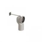 Труба для унитаза для отвода в пол 6/12 cm Globo VA077