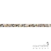 Фриз 600х30 Golden Tile Crema Marfil Sunrise (камушки) Н51351