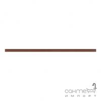 Фриз 2,3x75 Ceramika Color Listwa Szklana Luna (коричневый)