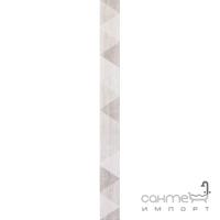 Фриз из треугольников 5,5x60 Ceramika Color Listwa Sabuni Triangle (серый)
