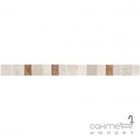 Фриз 4,8x60 Ceramika Color Burgas Listwa Damasco (бежевый/коричневый)