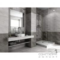 Фриз 2x40 Ceramika Color Listwa Szklana Grey (серый)