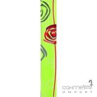 Фриз 5,8x40 Ceramika Color Listwa Primavera Bis Green (зеленый)