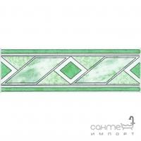 Фриз 6,6x20 Ceramika Color Listwa Grecja Zielona (зеленый)