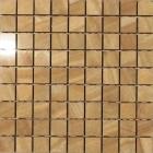 Мозаика 300х300 Graniser Benison Listelo Gold Mosaic (бежевая)