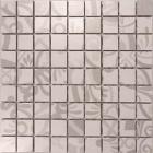 Мозаика 300х300 Graniser Benison Teraspite Grey Decor Mosaic (серая, декор)