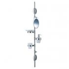 Универсальный держатель с аксессуарами для ванной комнаты Bossini Compact Beauty N00001