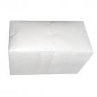 Салфетки столовые бумажные 24х24 Eco+ 15151 белые