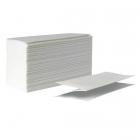 Бумажные полотенца ZZ-сложения узкопанельные Eco+ 140296 белые