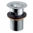 Донный клапан KLIK-KLAK полу-автомат маленький KFA Armatura 660-354-00 Хром
