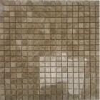 Мозаика 30,5x30,5 (1,5x1,5) Veromar LIGHT EMPERADOR POLISHED RM-15-24 (коричневая)