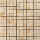 Мозаика 30,5x30,5 (1,5x1,5) Veromar WHITE TRV.POLISHED RM-15-01 (бежевая)