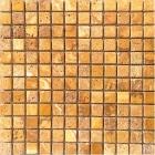 Мозаика 30,5x30,5 (1,5x1,5) Veromar YELLOW TRV.POLISHED RM-15-02 (желтая)
