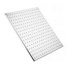 Верхний душ Dorff 500x500 квадратный, хромированная нержавеющая сталь