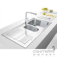Кухонная мойка Franke Logica Line LLL 611-79 крыло справа 101.0381.810 декор