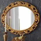 Зеркало Claudio Di Biase 7.1884-L-O золото