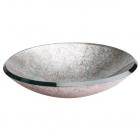 Раковина настольная стеклянная Dune 185419 silver (уценка)