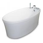 Отдельностоящая овальная акриловая ванна SSWW M715